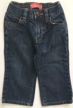 "GAP Baby Boy Size 3-6 Months NWT Dark Blue /""First Original/"" Classic Jeans Pants"