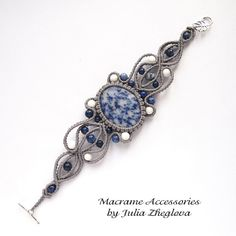 (2) Macrame Accessories by Julia Zheglova
