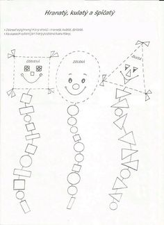 Kindergarten Coloring Pages, Preschool Worksheets, Preschool Activities, Shape Songs, Shape Games, Drawing For Kids, Art For Kids, Dyslexia Activities, Teaching Shapes