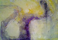 liz doyle Canale Grande 1 mixed media on panel 50 x 70cm