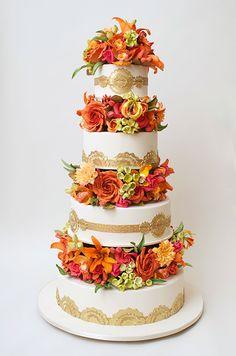 Ron Ben-Israel Wedding Cake