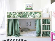 Kura lit Ikea Tropical laisse Bed Sticker Set PACK de 5