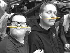 That's an interesting mustache.... #purplepatcharts