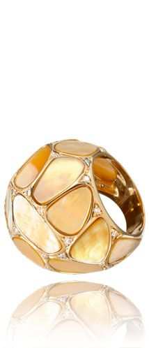 Wilfredo Rosado Mother of Pearl Ring
