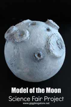 Model of the Moon Science Fair Project