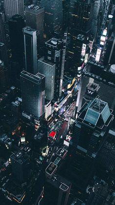 Time Square New York Blick vom Chopper Wallpaper Weitere Informationen finden Sie unter phonewallpaper.ne ... #blick #chopper #finden #informationen