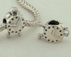 CLFJ081 925 Sterling Silver Clock Pandora Charms beads Jewelry Pandora House