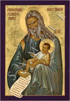 Now there was a man in Jerusalem whose name was Simeon. This man was righteous and devout, awaiting the consolation of Isreal, and the holy Spirit was upon him.