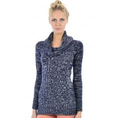 Roll Neck Cable Knit Jumper - Moda