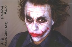 The Heath Ledger Behind-the-scenes Edition Of 'The Dark Knight #joker