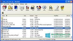 Скриншот программы WinRAR для Windows 10