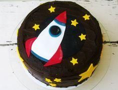 űrhajós torta