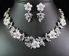 TQ Fashion FLORAL PEARL N AUSTRIAN RHINESTONE CRYSTAL NECKLACE EARRINGS SET BRIDAL N1424, http://www.amazon.com/dp/B00KMQWPOQ/ref=cm_sw_r_pi_awdm_nnloub1D6SZ35/182-0370155-9562631