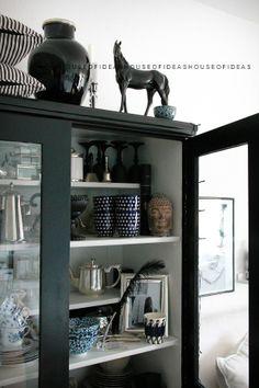 HOUSE of IDEAS, cabinet, horse, black http://myhouseofideas.blogspot.de/
