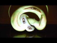 Tony Oursler : Anomalous Bodies, Resonant Dust, Worms - YouTube