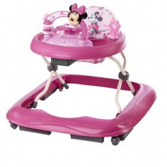 MINNIE MOUSE Precious Petals Walker - my girl needs a walker to get around in... Minnie, yes please!