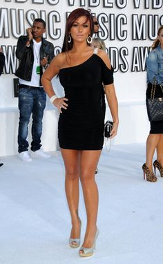 "Jenni ""JWOWW"" Farley of MTV's ""Jersey Shore"" on the red carpet at the 2010 MTV Video Music Awards in Los Angeles."