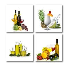 The Decor Shop Canvas Prints Wine Bottle and Fruits Photos on Canvas Wall Art Stretched and Framed Modern Decor Paintings Giclee Artwork for Dinning Room Kitchen Decoration -- For more information, visit image link. Modern Wall Art, Modern Decor, Fruits Photos, Canvas Wall Art, Canvas Prints, Artwork For Home, Valentines Flowers, Kitchen Decor, Room Kitchen