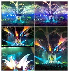 amazing stage design, amsterdam arena