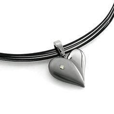Titanium Heart necklace