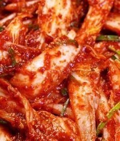 Korean Dishes, Korean Food, Chinese Food, K Food, Fast Food, Kimchi, Food Plating, Italian Recipes, Bacon
