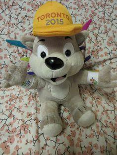 hugging my new buddy Toronto 2015 Pan Am, Hug Me, Toronto, Presents, Teddy Bear, Games, Toys, Board, Animals