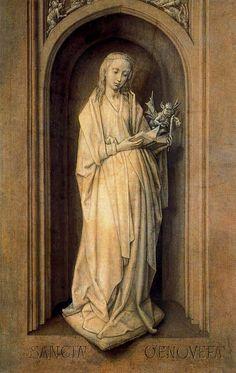 Hugo van der Gauss Hugo van der Goes (1440-1482) famous painter Southern Netherlands