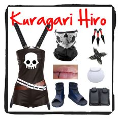 """""""Kuragari Hiro- Naruto Oc"""" by p3ych0tic-fangir1 ❤ liked on Polyvore featuring CO"""