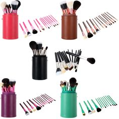 Professional Makeup Brush 13pcs/Set Set Cosmetic Brush Kit Eyeshadow Eyeliner Powder Brushes Makeup Tools With Cup Holder Case-in Makeup Brushes & Tools from Health & Beauty on Aliexpress.com | Alibaba Group