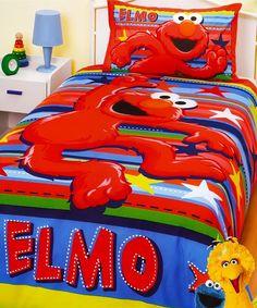 Elmo Toddler Bed Set