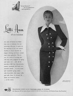 Lisa Fonssagrives-Penn, December Vogue 1950 | Flickr - Photo Sharing❤️