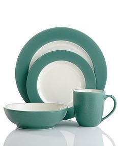 Noritake Dinnerware, Colorwave Green Square Collection - Dinnerware ...