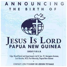 The newest addition to the growing JIL family of churches worldwide opened in Papua New Guinea last Sunday! If you have friends and family there, encourage them to connect with JIL Papua New Guinea and experience the love of Jesus Christ.