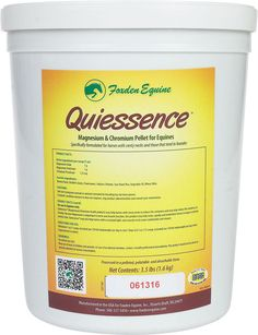 Quiessence Magnesium & Chromium Pellet for Horses 3.5 lb (14 - 28 days)