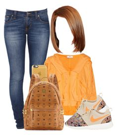 """""""BTS"""" by aribearie ❤ liked on Polyvore featuring Nudie Jeans Co., adidas, NIKE, Casetify and MCM"""
