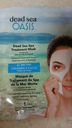 Dead Sea Oasis Spa Treatment Sheet Mask set of 3 Facial Treatments | Health & Beauty, Skin Care, Masks & Peels | eBay!