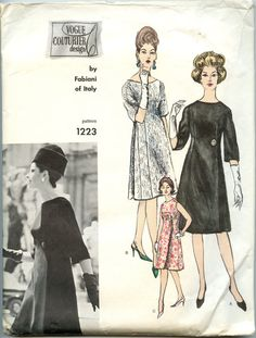 1960s Vogue Couturier 1223 Fabiani of Italy by GreyDogVintage