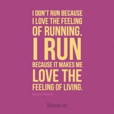 "In-your-face Poster ""I don't run because i love the feeling of running. i run because it makes me love the feeling of liv"" by Bonnie Pfiester - Behappy. Running Memes, Running Quotes, Running Motivation, Running Workouts, Fitness Motivation, Run Quotes, Motivation Quotes, Cross Country Quotes, Cross Country Running"