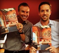 Brody Hutzler and Luke Mulvey at 2014 Interior Design Camp, Las Vegas.   #designcamp #thewelltraveledhome