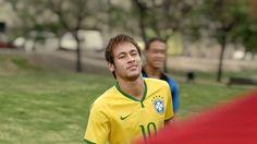 Star performers: Brazil forward Neymar features in Nike's new advert titled 'Winner Stays'