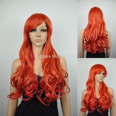 > >>women ladys long orange color curly wave synthetic cosplay costume hair full wig     #http://www.jennisonbeautysupply.com/    http://www.jennisonbeautysupply.com/products/women-ladys-long-orange-color-curly-wave-synthetic-cosplay-costume-hair-full-wig/,      Natural looking and soft touch, Wearing it, it can bring you more confidence, and more.  The size is adjustable and no pins or tape should be required. It should be fit on most people. All you should need to do is adjust the hooks…
