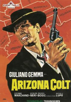 South American poster for ARIZONA COLT