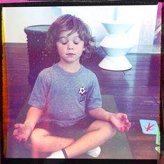 blog from yoga teacher, ideas for teaching kids yoga and meditation