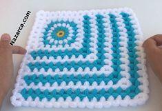 Dory, Blanket, Crochet, Model, Farmhouse Rugs, Scale Model, Ganchillo, Blankets