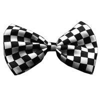 Precious Paw Prints Boutique - Checkered Bow Tie for Cats, $7.95 (http://www.preciouspawprints.com/nascar-checkered-bow-tie-for-cats/)