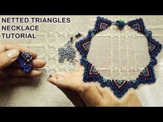 Peyote Tekniği İle Rivoli Taş Örme Kolye / Bezeling a Rivoli With Peyote Sit. Seed Bead Tutorials, Beading Tutorials, Beading Patterns, Seed Bead Necklace, Seed Bead Jewelry, Diy Necklace, Necklaces, Beaded Necklace Patterns, Beaded Bracelets
