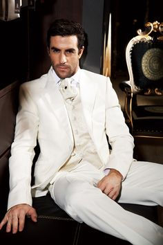 Bridegroom Bowtie One Button Snap Down Collar Pants Tuxedo Suit