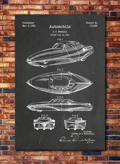 Weddell Automobile Patent by CatkumaPatentPress