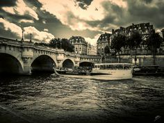 Pont Neuf with Boat | Flickr - Photo Sharing!