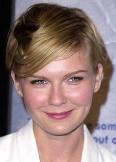 Kirsten Dunst.  I love her short hair!